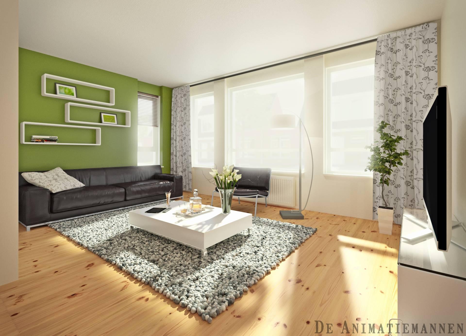 Interieur Impressie 2-1kapper Woonkamer » De Animatiemannen